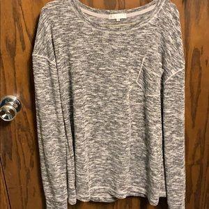 grey sweater medium